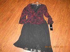 Ladies/Misses Skirt&Top By: MSK PETITE  Size L/XL SUPER CUTE NWT