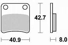 Jeu de plaquette frein a main parking pour piaggio MP3 125 250 400