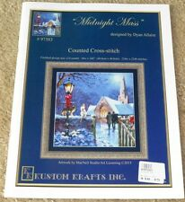 Kustom Krafts counted cross stitch chart MIDNIGHT MASS