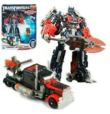 "Transformers 3 Voyager Fireburst 6"" Optimus Prime Action Figure Toy Doll"