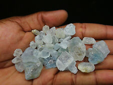 100 GRAM LOT OF GEM QUALITY BLUE TOPAZ ROUGH FROM NIGERIA