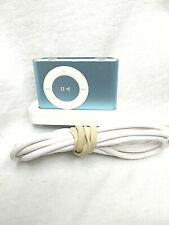 Apple iPod Shuffle 2nd Gen 1GB (Blue)  w/ OEM Dock Tested & Works Mint Condition