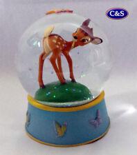Disney Curious Bambi Water Globe (A27026) 10cm