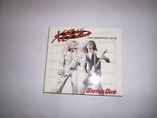 Status Quo : XS All Areas - The Greatest Hits CD, 2 CD DIGI-PACK, 40 TRACKS