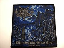 DARK  FUNERAL Where Shadows Forever Reign WOVEN  PATCH