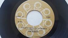 LOS BABYS - Con Una Lagrima En La Garganta / Chaparrita de Mis Amores LATIN POP