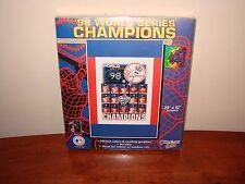NY Yankees 1998 World Series Champions Banner/Flag - Derek Jeter, Andy Pettitte