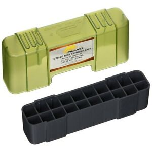 Plano 1229-20 Ammo 243 Winchester Charcoal/Green Ammunition Box 6Pk