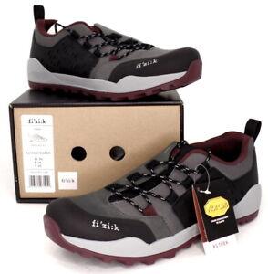 Fizik Ergolace X2 Mountain Bike SPD Shoes, Grey, US 9 / EU 42