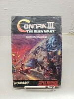 Contra III - The Alien Wars Super Nintendo (SNES) Original Manual Only