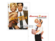 Dharma and Greg TV Series Complete Season 1 & 2 (1 2 1-2) BRAND NEW DVD SET