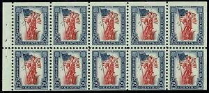 #S6a 1958 25 CENT SAVINGS STAMP BOOKLET PANE ISSUE MINT-OG/NH VF