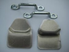 Land Rover Series 1, 2a, 3 Canvas Top Cleats, Rope Clamps RRC3966 X2, 301328 X2