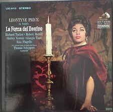 VERDI-LA FORZA del DESTINO-PRICE-ORIGINAL 1965 VINYL 4-LP BOX SET-RCA LSC-6413