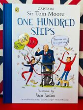One Hundred Steps The Story of Captain Sir Tom Moore Hardcover 9780241486764