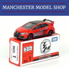 Tomica TEM Honda Civic Type R FK2 red & black Limited Edition SCARCE BOXED NEW