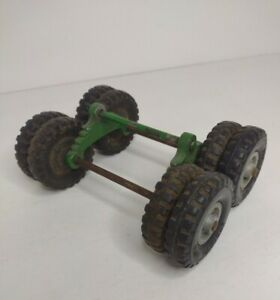 8 - 2 inch Structo Wheels with axle Toy Parts