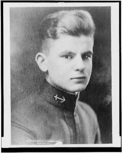 Lieutenant Graham N. Fitch,thought to be alive on sunken submarine,c1927 2917