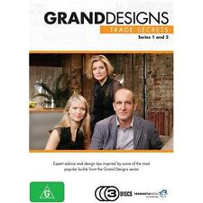 Grand Designs Trade Secrets - Series 1 & 2 (DVD, Region 4, 3 Disc set)