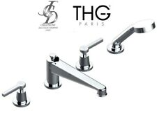 THG G58-A02-00112BSG Spirit A Manettes rim-mounted 4-hole bath/shower mixer NIB