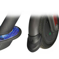 Garde-boue Fender matériels en caoutchouc 1Pair pour Xiaomi M365 Pro noir
