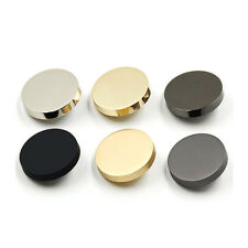 NEW Pack 10pcs Round Metal Sewing Sew On Buttons 10/12/15/18/20/23/25/28mm AU