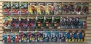 33 ISSUES of SPIDER-MAN from 1990 in NM 9.4...McFARLANE ISSUES.....ONLY $19.95!