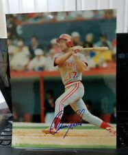 CHRIS SABO 1988 ROOKIE OF THE AUTOGRAPHED 8 X 10 ROOKIE PHOTO