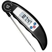 Digital Thermometer LCD Instant Read BBQ Grill Meat Kitchen Oven Food Cooking US