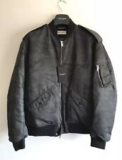 SAINT LAURENT Camouflage-Print Shell Bomber Jacket SIZE IT 54 RRP £1285