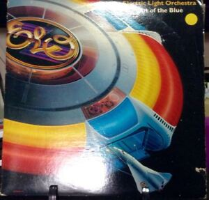 ELECTRIC LIGHT ORCHESTRA Out Of The Blue Double Album Released 1977 Vinyl/Record