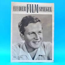 DDR Filmspiegel 13/1956 Rolf Moebius Renate Küster Kopierwerke Köpenick Cousteau