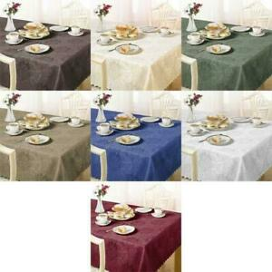 Clearance Bargain Damask Rose Tablecloth Napkins Various Colours & Sizes