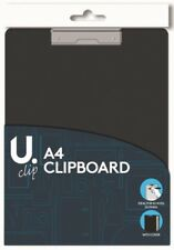 A4 CLIPBOARD WITH FOLDING COVER & SPRUNG CLIP OFFICE SCHOOL OUTINGS CLIP BOARD