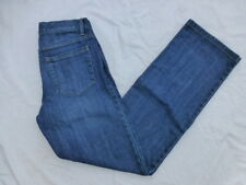 WOMENS THEORY BUTTON FLY STRAIGHT LEG JEANS SIZE 28x32.5 #W3452