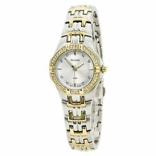 pulsar Women's Two Tone Bracelet Stainless Steel Watch Watch PTC388