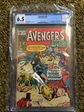 THE AVENGERS 83 1st App Valkyrie CGC 6.5 Marvel Comics Scarlet Witch Valkyrie