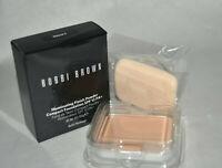 NIB Bobbi Brown illuminating finish powder compact foundation SPF 12 PA+ NATURAL