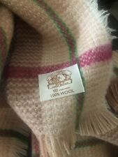 More details for welsh blanket the cambrian mill 100% wool