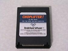 Choplifter! (Broderbund) -Blue/Orange- Atari 400/800/XL/XE - WORKS & GUARANTEED!