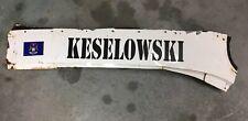 Brad Keselowski - Dale Jr Motorsport Race Used Sheetmetal - Name Rail - HTF