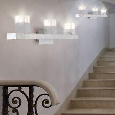 Lot de 2 appliques murales miroir de salle de bains éclairage cube radiateur