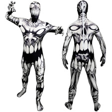THE MOUTH MONSTER Morph Original Morphsuits party costume  LG size