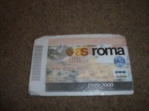 MATCH TICKET AS ROMA V LEEDS UNITED UEFA CUP ROUND 2 1ST LEG 20TH OCTOBER 1998
