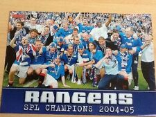 Rangers Surname Initial R Football Prints