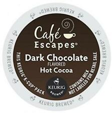 Café Escapes K-Cup Portion Hot Cocoa for Keurig Brewers - Dark Chocolate, 96 Ct