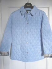 Burberry London ladies quilted jacket coat. Size S/M. Superb!