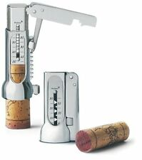 Brucart Compact Chrome-Plated Corkscrew Deluxe Pack with Pouch