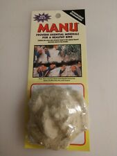 Manu Mineral Rose Essential Minerals For Bird Health Natural Calcium Supplement