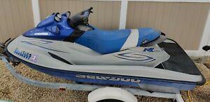 2001 Sea Doo RXDI 11' Jet Ski & Trailer - New Jersey